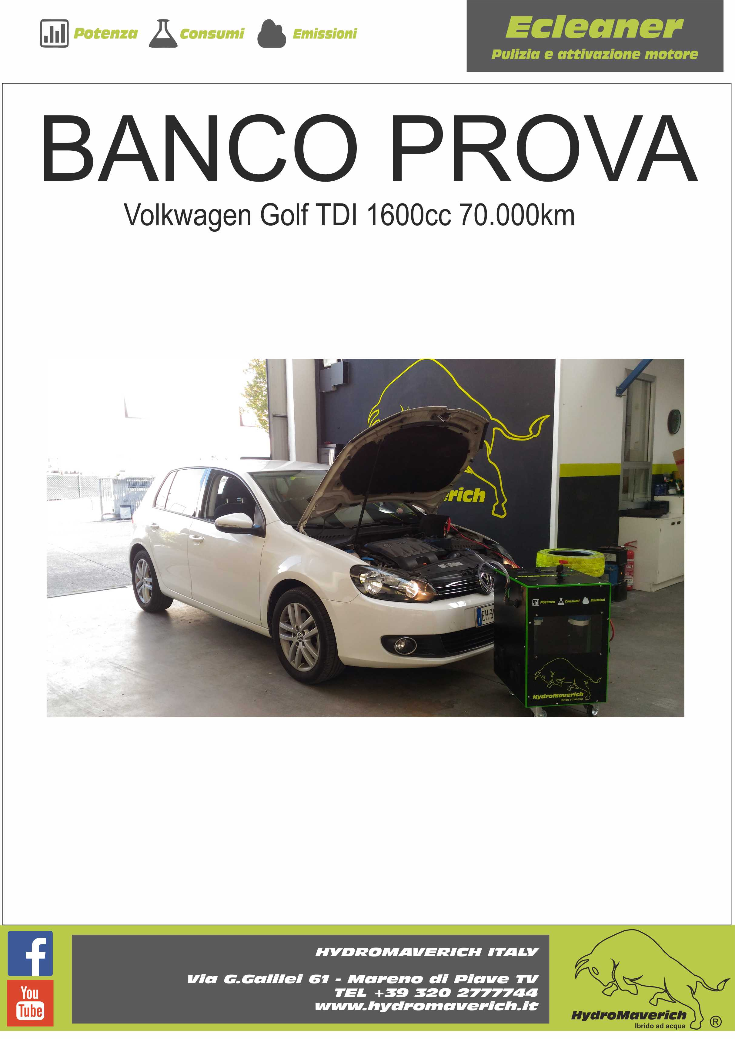 hydromaverich banco prova golf1